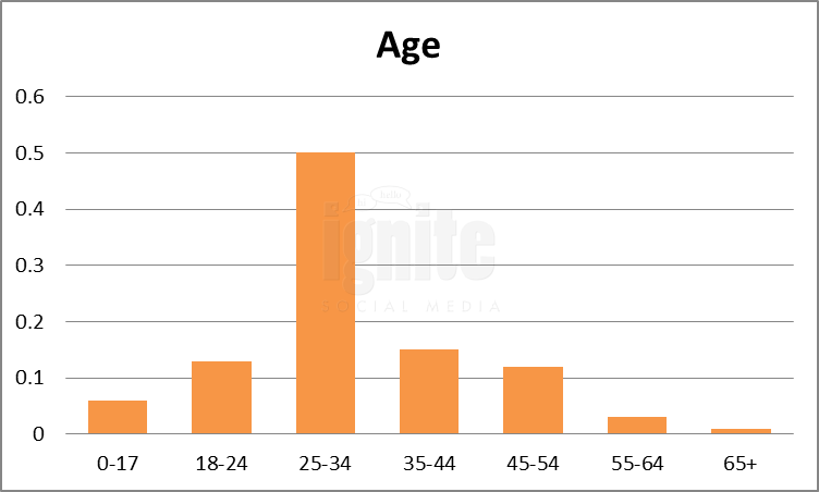 Age Breakdown For Hi5