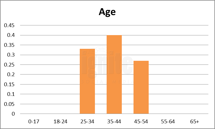 Age Breakdown For Hyves.nl