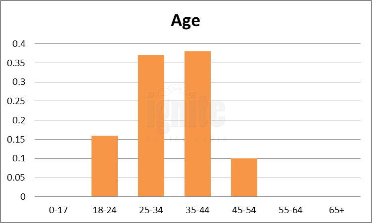 Age Breakdown For Plurk