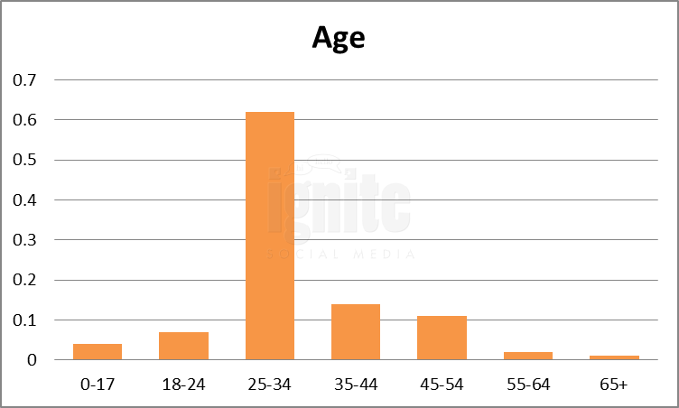 Age Breakdown For Sonico