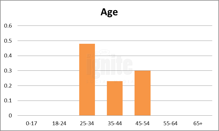 Age Breakdown For Wer-kennt-wen