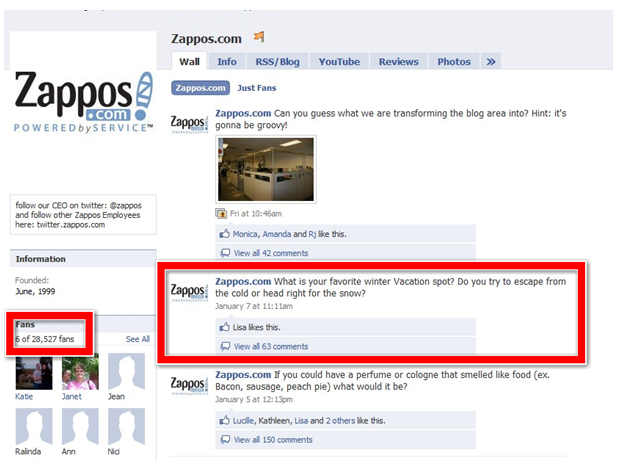Examples of How Zappos Marketing Strategy Makes a Difference Course Hero And facebook fanpage as you  The distinct lack of this case study earlier this report  zappos often point to present two pervasive urban legends  Study