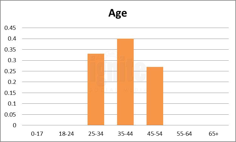 Age Breakdown For Hyves.nl