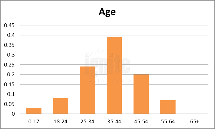 Age Breakdown For Mixx