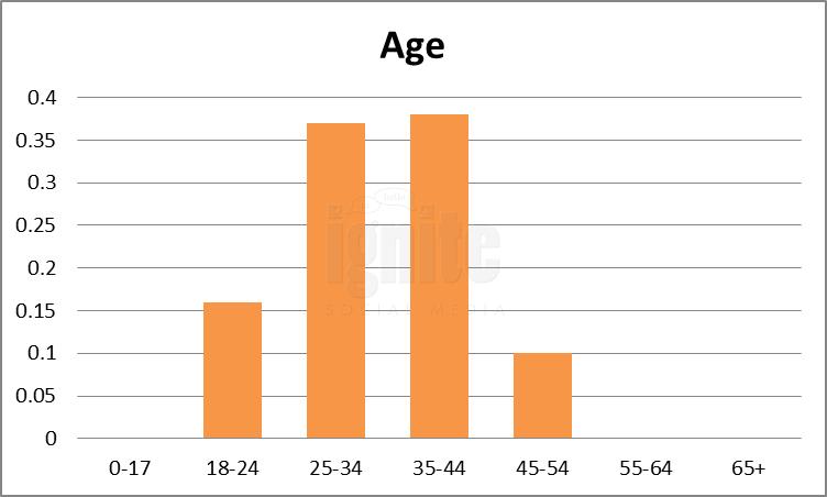 Age Breakdown For Plurk