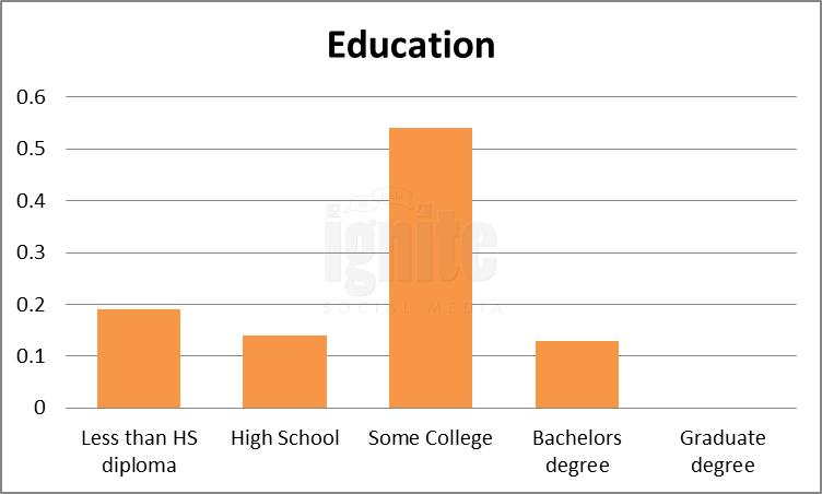 Education Breakdown For Wer-kennt-wen